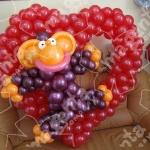 132 Шары на день влюбленных и любовь - морковь , цены в разделах  Шары гелиевые и Шары фольгированные .