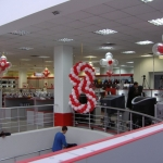 Оформление магазина , офиса  к восьмому марта