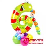 Композиция из шаров / № 6.4 /  Цена - 290 грн / Высота 100 см. /Цифры от 1 до 9 / Цвета в ассортименте
