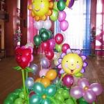 № 25 / Оформление шарами детских дней рождений /Цену уточняйте у менеджера / Все элементы можно заказывать по отдельности . Цвета в ассортименте.