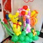 Композиция из шаров / № 1.25 /Цена - 490 грн / Высота 130 см./Цифры от 1 до 100 / Цвета в ассортименте.
