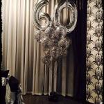 Композиция из шаров / № 60.1 /  Цена - 830 грн / Высота 100 см./Цифры от 1 до 100 / Цвета в ассортименте