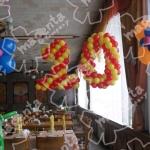 № 75 / Оформление шарами детских дней рождений /Цену уточняйте у менеджера / Все элементы можно заказывать по отдельности . Цвета в ассортименте.