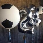 Композиция из шаров / № 2.20 / Цена - 1190 грн / Высота 100 см / Цифры от 1 до 9 / Цвета в ассортименте /