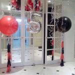 Композиция  из шаров / № 5.10 /  Цена - 1290 грн / Высота 100 см. /Цифры от 1 до 9 / Цвета в ассортименте