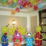 № 23 / Оформление шарами детских дней рождений /Цену уточняйте у менеджера / Все элементы можно заказывать по отдельности . Цвета в ассортименте.