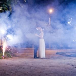 Холодные огни фонтаны
