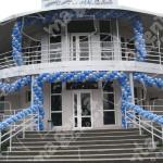 Оформление ресторана Кристалл на Набережной.