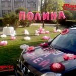 № 59 /  Украшения машины / Комплект - 590 грн. /