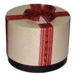 круглая-коробка-красн - 90 грн.