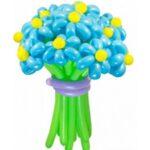 -цветы из шаров фиалки иконка-500x500