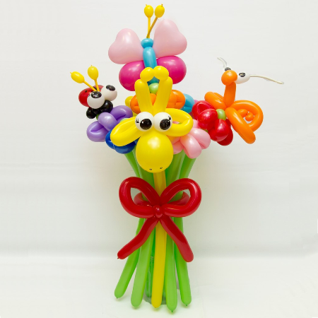 children-flower-of-balloons