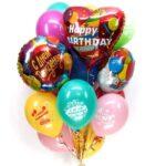 Набор шаров с днем рождения в Запорожье