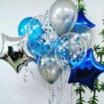 Облако из шаров в Запорожье