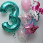 набор шаров для девочки в Запорожье