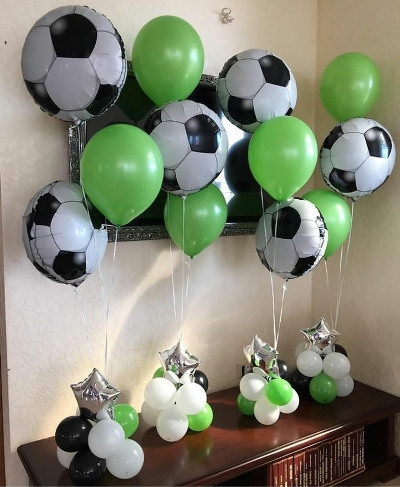 подарок из шаров для футболиста в Запорожье