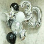черно белые шары в Запорожье