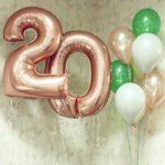 шары на 20 лет в Запорожье