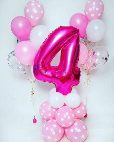 шары с днем рождения для девочки в Запорожье