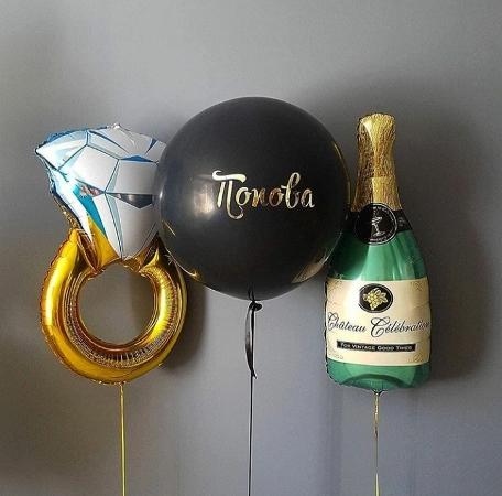 шар фигура шампанского в Запорожье