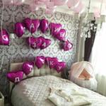 шары для девочки на выписку с роддома