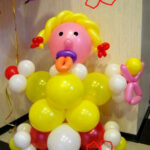 шары для девочки на выписку с роддома (2)