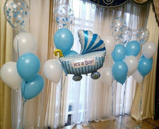 шары для встречи новорожденного в Запорожье