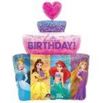 шар принцессы с днем рождения в Запорожье
