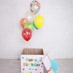 Коробка сюрприз с шарами в Запорожье (3)