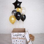 Коробка сюрприз с шарами в Запорожье (4)