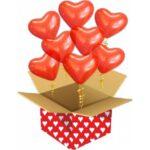 Коробка сюрприз с шарами в Запорожье (5)