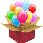 коробка сюрприз с шарами в Запорожье