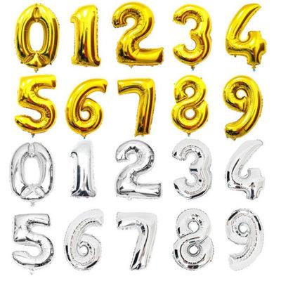 фольгированные цифры шары Запорожье